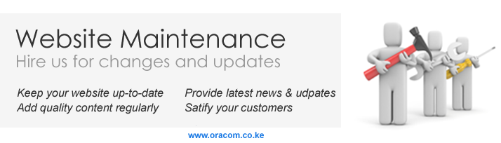 Website Maintenance in Kenya